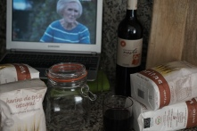 Glass of red, Mary Berry on the telly. Heaven.