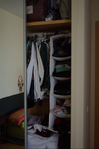 Wardrobe : Before